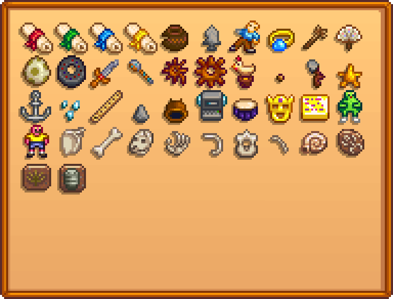 Artifacts - Stardew Valley Wiki