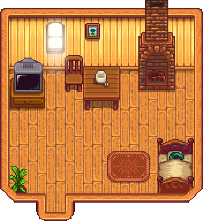 Farmhouse - Stardew Valley Wiki