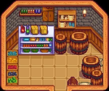 Finished Oak Pantry Kitchen Wall Cabinet