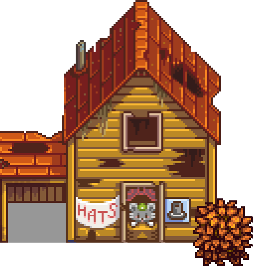 990541223e42e9 Abandoned House - Stardew Valley Wiki