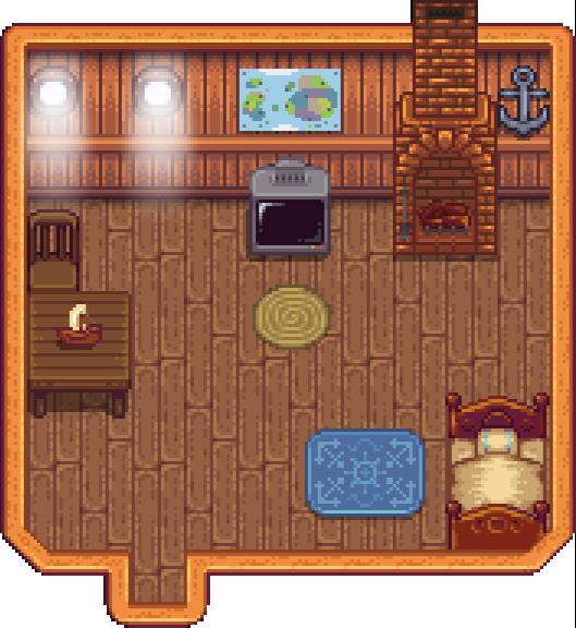 Stardew Valley Kitchen Floor Changed