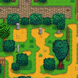 graveyard stardew valley wiki