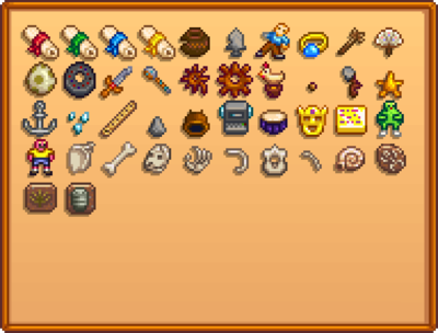 Collections Stardew Valley Wiki