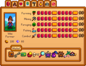 Wallet Stardew Valley Wiki
