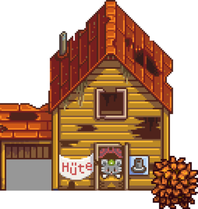 Abandoned House once you earn your first achievement