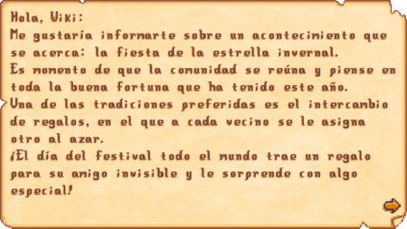 Festival of the Winter Star letter ES.png