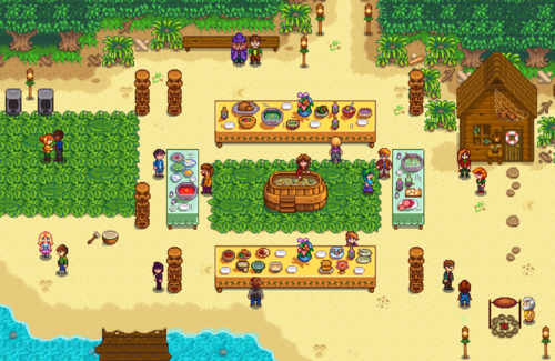 Luau stardew valley wiki the luau takes place on the 11th of every summer you attend the luau by entering the beach between 9am and 2pm you cannot enter the beach before 9am forumfinder Images