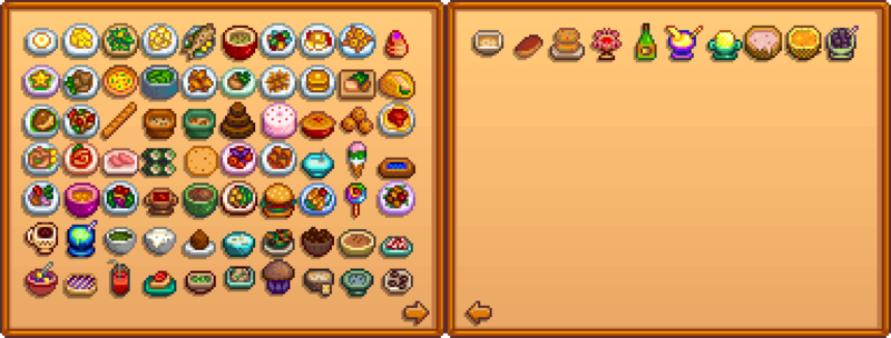 Cooking - Stardew Valley Wiki
